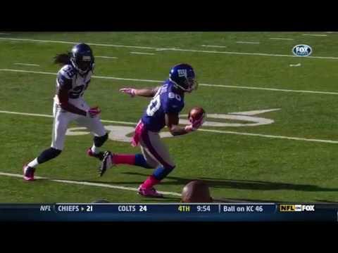 Victor Cruz Amazing Touchdown Catch Vs Seahawks