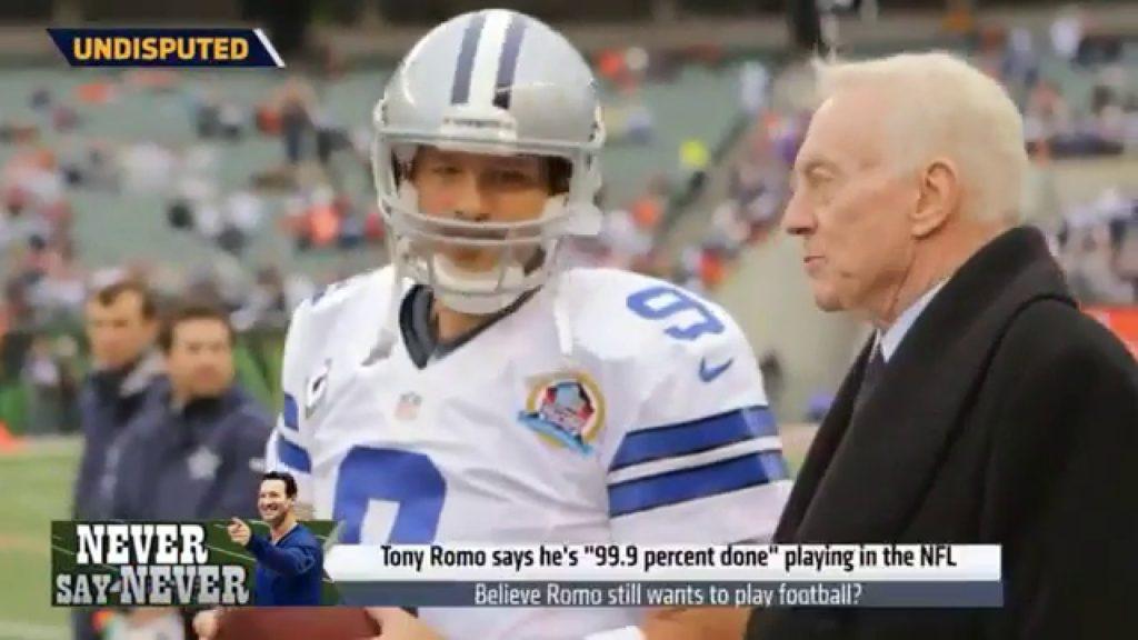 Believe Tony Romo Still Wants To Play Football? | Undisputed