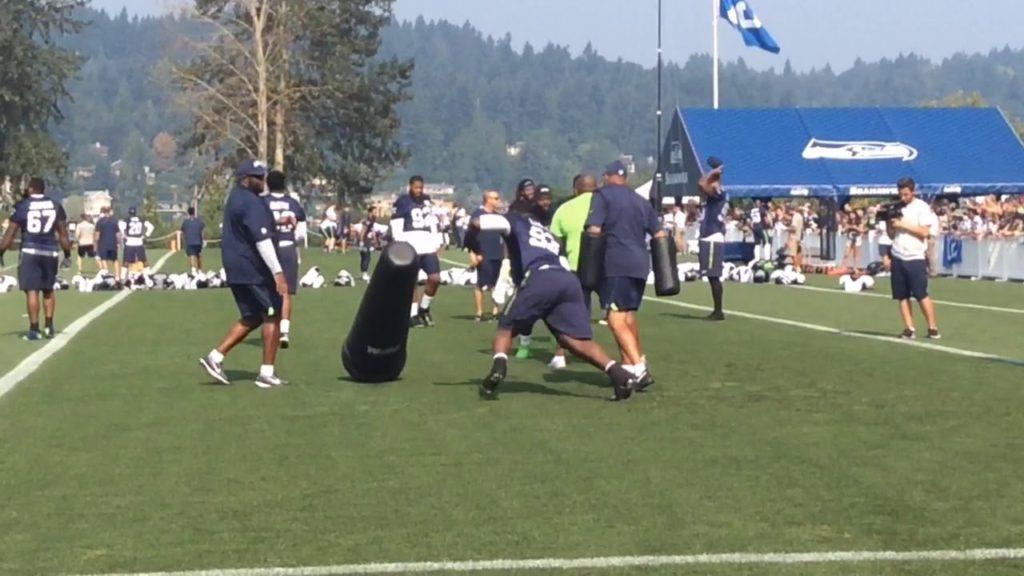 Seattle Seahawks training camp 2017