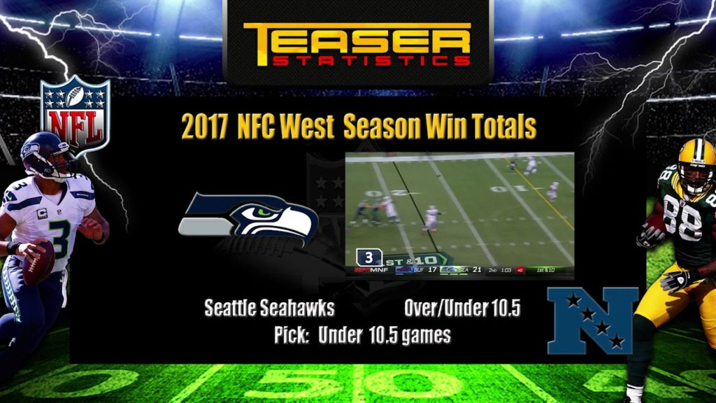 NFL   How To Win Betting 2017   Seattle Seahawks   NFC West Season Win Totals