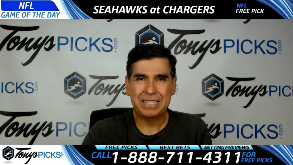 Seattle Seahawks vs. LA Chargers Free NFL Preseason Football Picks and Predictions 8/13/17