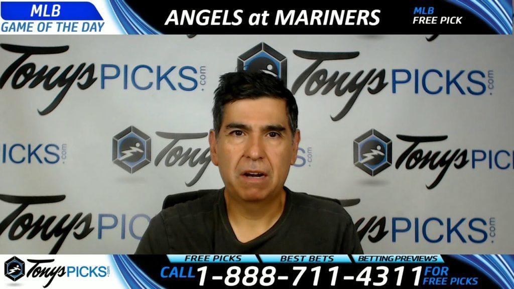 LA Angels vs. Seattle Mariners Free MLB Baseball Picks and Predictions 8/12/17