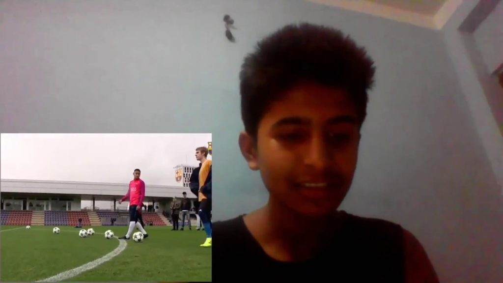 MOST WATCH REACTION IN JUSTIN BIBER Play football with neymar