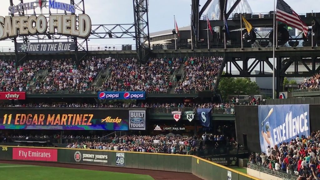 Edgar Martinez Seattle Mariners Number Retirement Unveiling