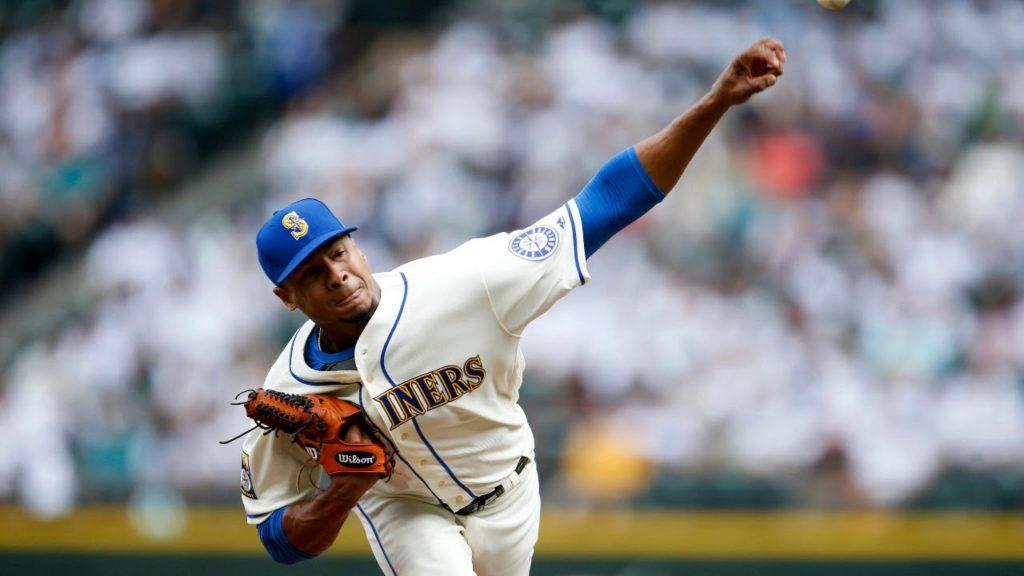 August 13, 2017 / Ariel Miranda / Seattle Mariners