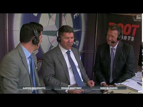 Martinez joins Mariners booth