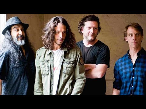 Soundgarden Member Photographed With Fan At Baseball Game