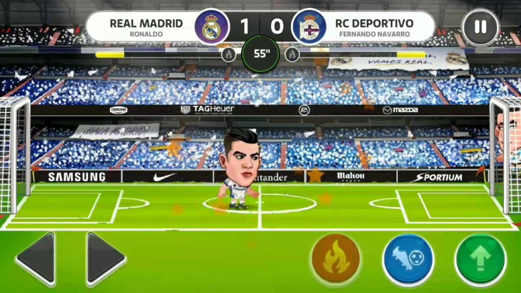 How to play Android game La liga soccer| football lovers play this game