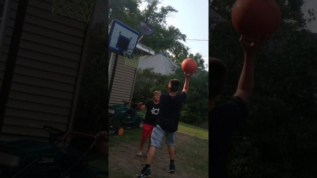 Basketball with Seahawks fan 123