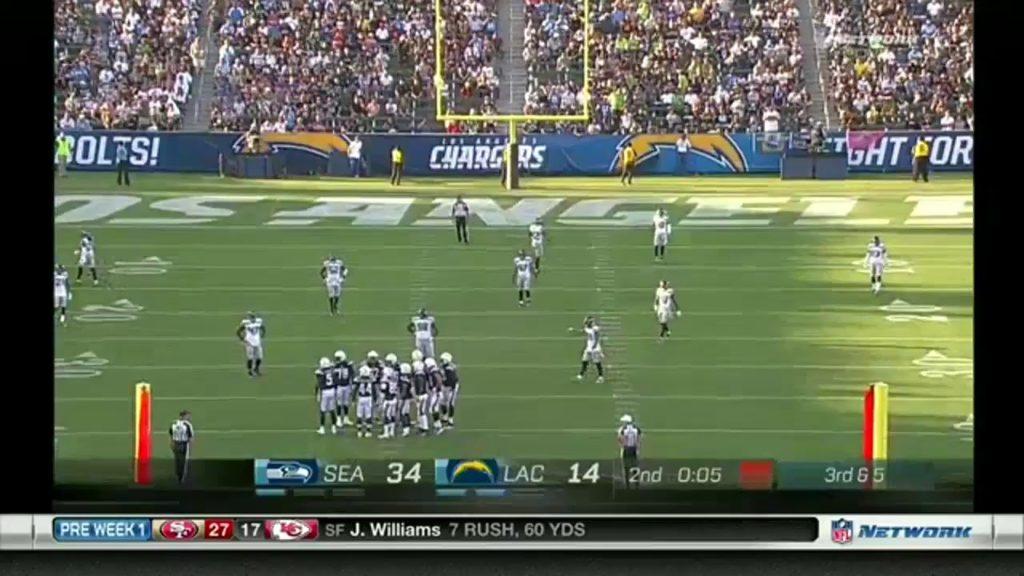 Seahawks vs Chargers – NFL 2017 Full Match Week 1 Preaseason