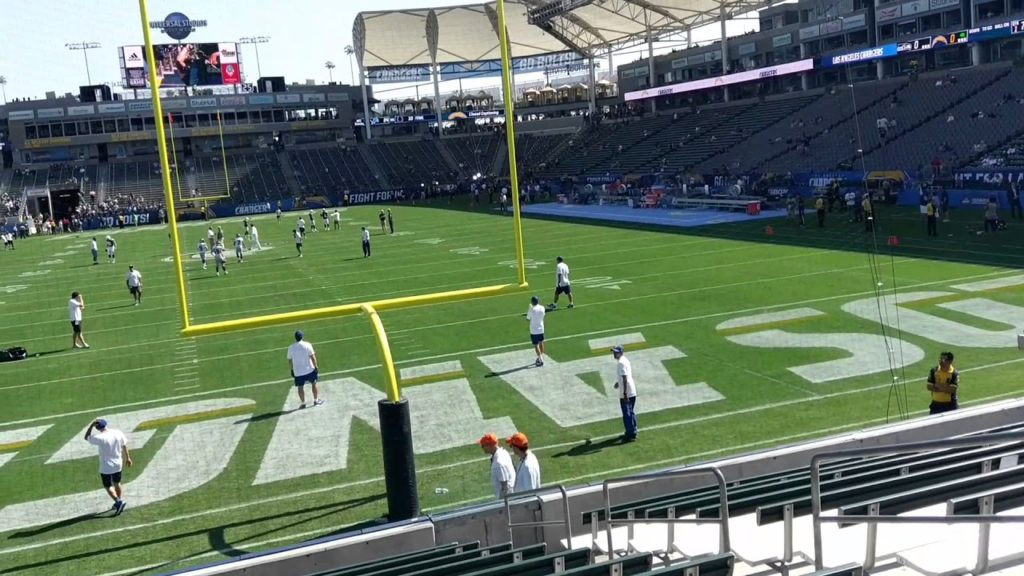 8.13.2017- 1st EVER NFL GAME @ STUBHUB CENTER. SEATTLE SEAHAWKS @ LOS ANGELES CHARGERS(2)