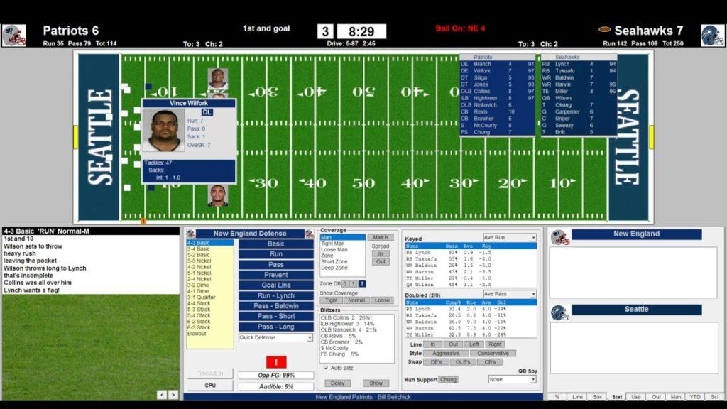 Retro Football League Pilot 2nd Half