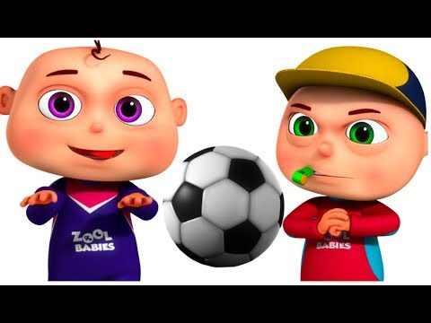 Zool Babies Playing Football   Cartoon Animation For Children   Videogyan Kids Shows