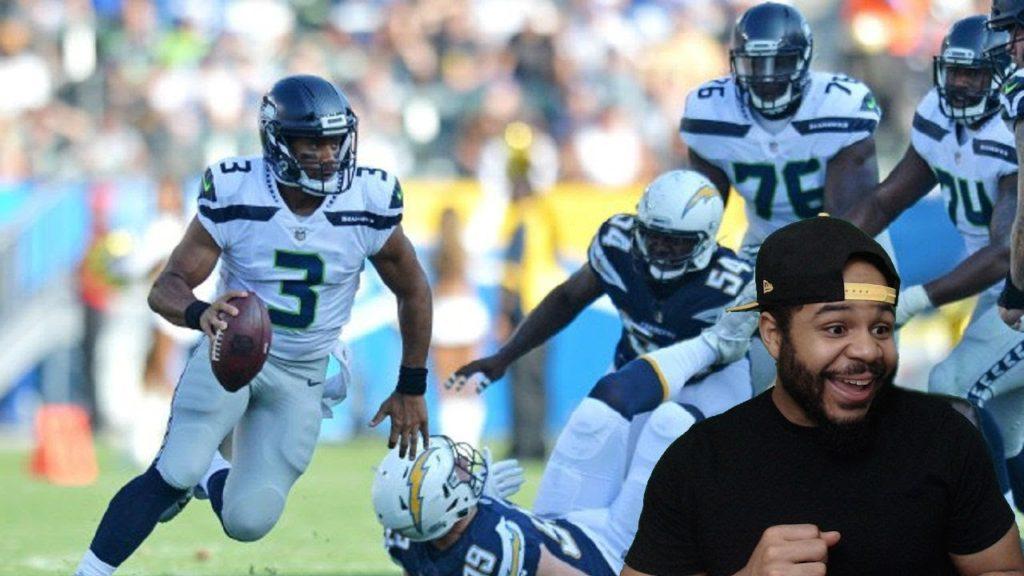Seahawks vs. Chargers   NFL Preseason Week 1 Game Highlights REACTION