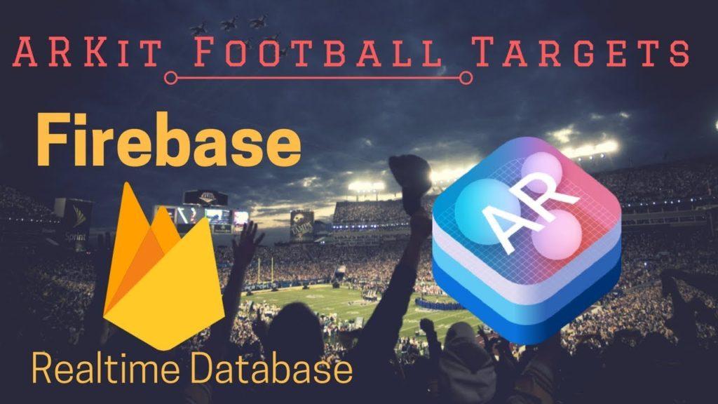 Unity 2017 ARKit Firebase Tutorial: FOOTBALL! High Scores with Firebase!