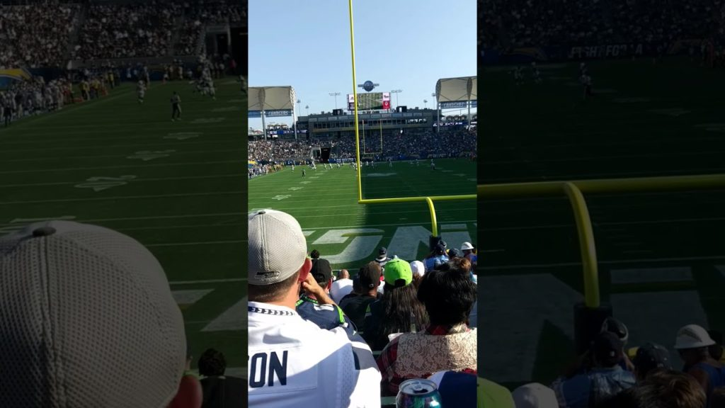 8.13.2017- 1st EVER NFL GAME @ STUBHUB CENTER. SEATTLE SEAHAWKS @ LOS ANGELES CHARGERS(1)