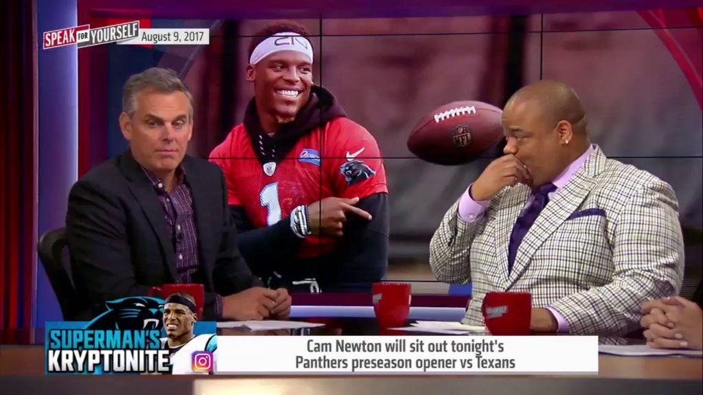 Is Cam Newton still having fun playing football? | Speak For Yourself
