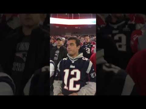 *HUGE FIGHT* Patriots fan CUSS OUT a FEMALE Seahawks fan for talking trash WORLDSTAR 2016 [ Heike F