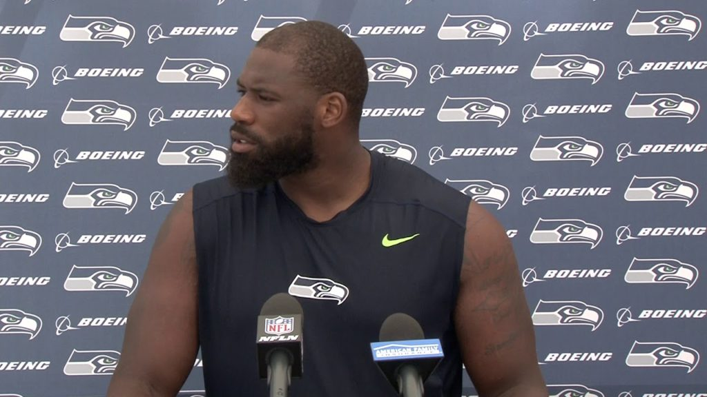 Seahawks Tackle George Fant Training Camp Press Conference