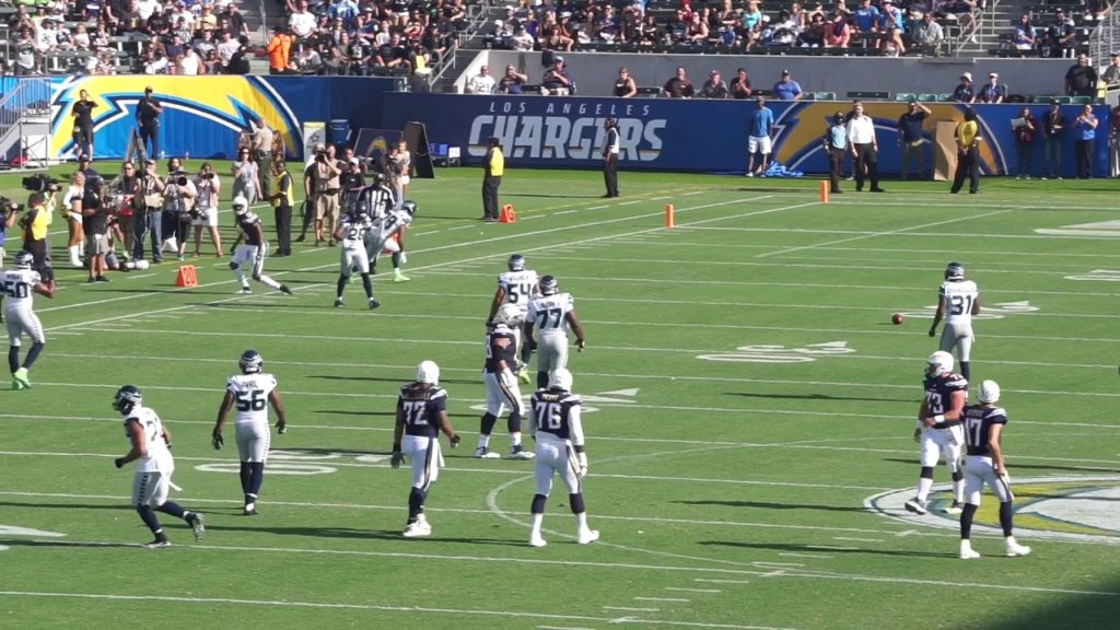 Chargers Preseason Opener against the Seahawks (1st Drive)