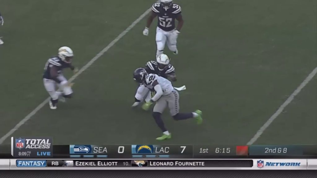 Eddie Lacy   Seahawks Debut Highlights! FULL   Seattle Seahawks vs Chargers NFL Preseason 1