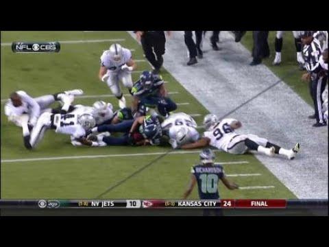 2014 – Seattle Seahawks wide receiver Jermaine Kearse recovers onside kick