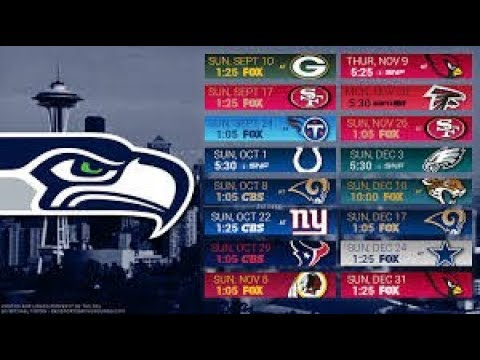 Seattle Seahawks 2017 NFL Schedule Predictions/Outcomes