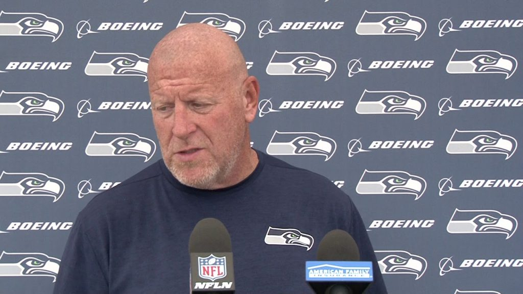 Seahawks Offensive Line Coach Tom Cable Training Camp Day 12 Press Conference