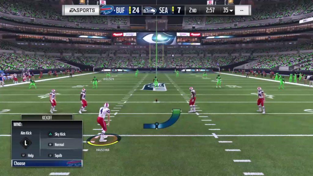 Buffalo Bills (JP) @ Seattle Seahawks (Glenn) Madden 17
