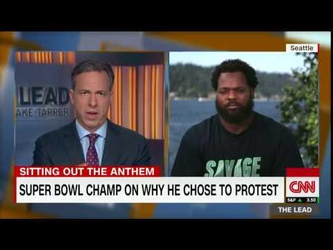 Seahawks Michael Bennett: I'll protest anthem until we're equal
