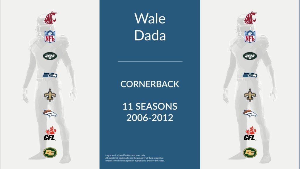 Wale Dada: Football Cornerback