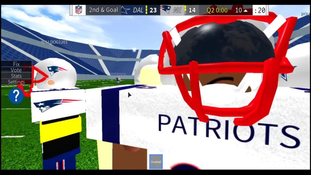 I dont know how to Play Football (roblox)