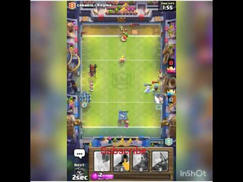 Playing football challenge on clash royal new update