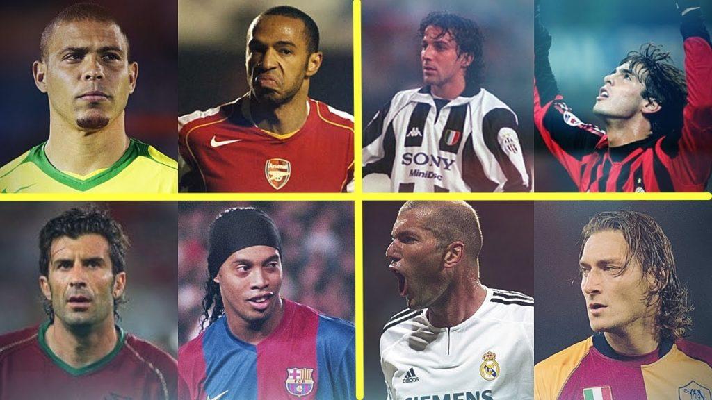 Legendary Old Football Skills Show – Ronaldo,Dinho,Totti,Henry,,Kaka,Zidane & more! | HD