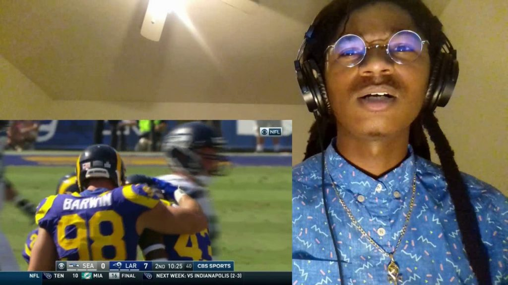 RUSSEL BREAKS THE CURSE! Seahawks vs  Rams  NFL Week 5 Game Highlights REACTION!!
