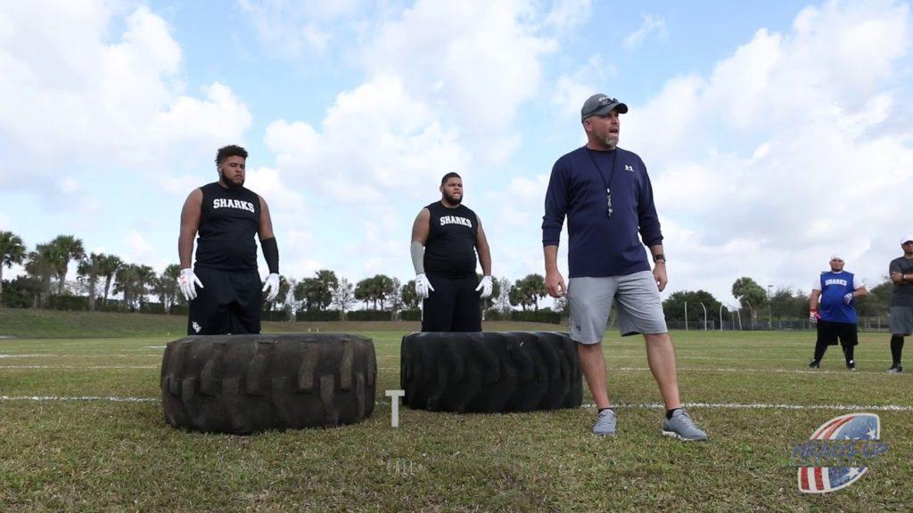 Offseason Football Workouts: The Tire Flip