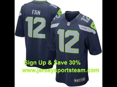 Seattle Seahawks Men's Jerseys, Football Jersey, Uniform   Nike