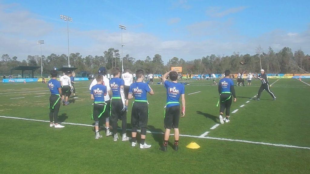 Game 1 BAR Seahawks vs HFFL Rams 2nd Half DSCN1321