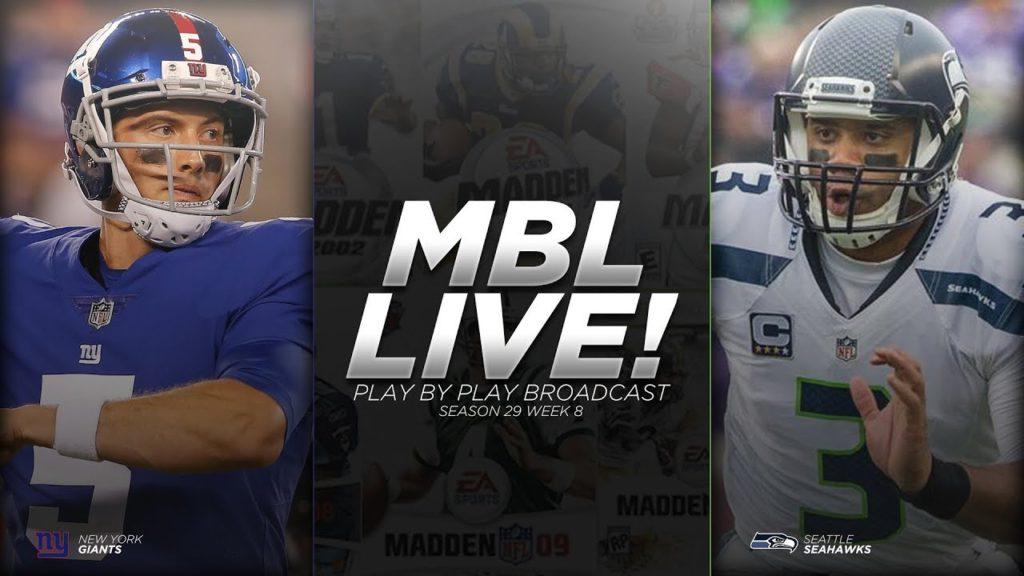 Season 29 | Giants vs Seahawks Week 9