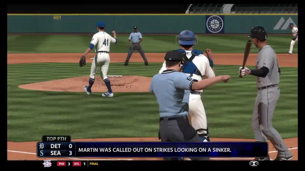 MLB The Show 18 Franchise: MARINERS (24-21) vs. Tigers (20-27) (5/20/2018)