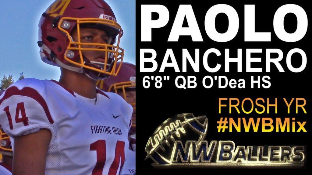 FRESHMAN 6'8″ QB Paolo Banchero O'Dea HS (Seattle) – #NWBQuickMix