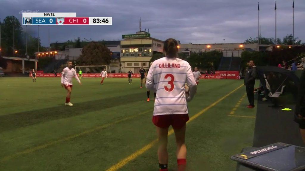 Yuki Nagasato Round10 -Seattle ReignFC-