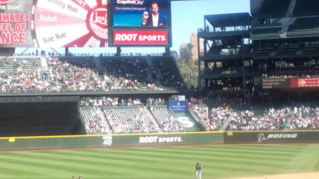 Last Mariners Home Game