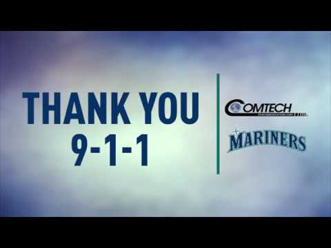 Mariners Say Thank You to 9-1-1