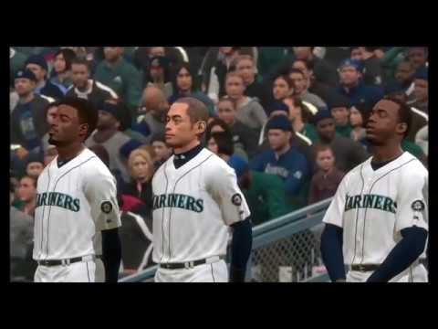 MLB The Show 18 Mariners Franchise vs Cleveland [S1 G1]