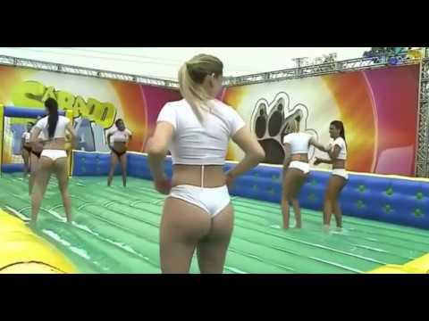 Brazilian Girls play Football