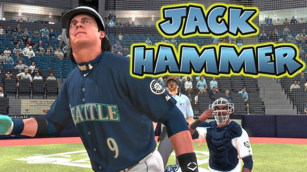 MLB The Show 18 Jack Hammer Road to The Show Shortstop Mariners vs Tampa Bay Rays MLB 18 RTTS