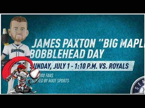 The mariners are commemorating the james paxton-bald eagle moment with a bobblehead