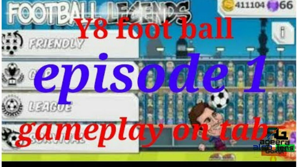 y8 football gameplay epsiode 1 by also lens