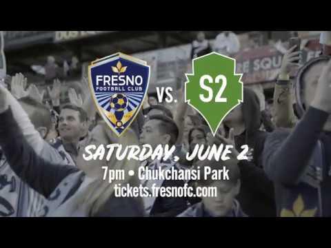 Fresno FC – Seattle Sounders 2 Promo